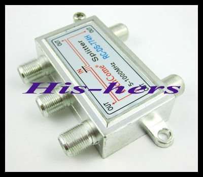 5-1000MHz 1 In 4 Out TV CATV Signal Coupler 5 Way Splitter