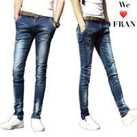 UMMEWALO Skinny Jeans Men Stretch Slim Denim Jeans Mens Casual Cotton Washed Designer Clothes Jeans Masculino