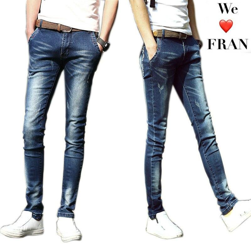 Ummewalo обтягивающие джинсы Для мужчин узкие джинсы Для мужчин S Повседневное тертые хлопковые Дизайнерская одежда Джинсы для женщин masculino Жан Homme