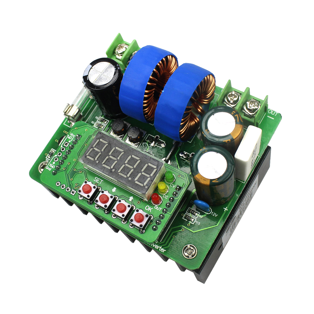 400W NC DC Power Supply Voltage Adjustable Boost Module Ammeter 80V 10A Solar Charger BST-400W400W NC DC Power Supply Voltage Adjustable Boost Module Ammeter 80V 10A Solar Charger BST-400W