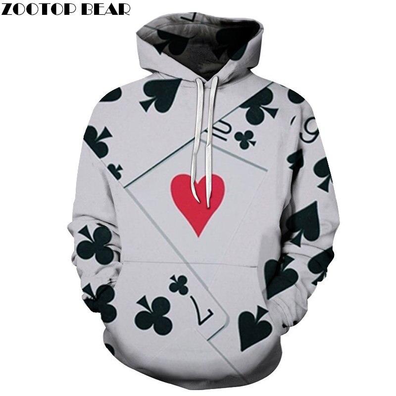 Red Heart Men Sweatshirts 3D print Spring Fashion Streetwears Recreation Game Hoodies Casual Brand Pullover Drop Shop ZOOTOPBEAR