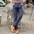 Autumn winter new fashion straight men long pants business or casual style pants man pocket trousers for men