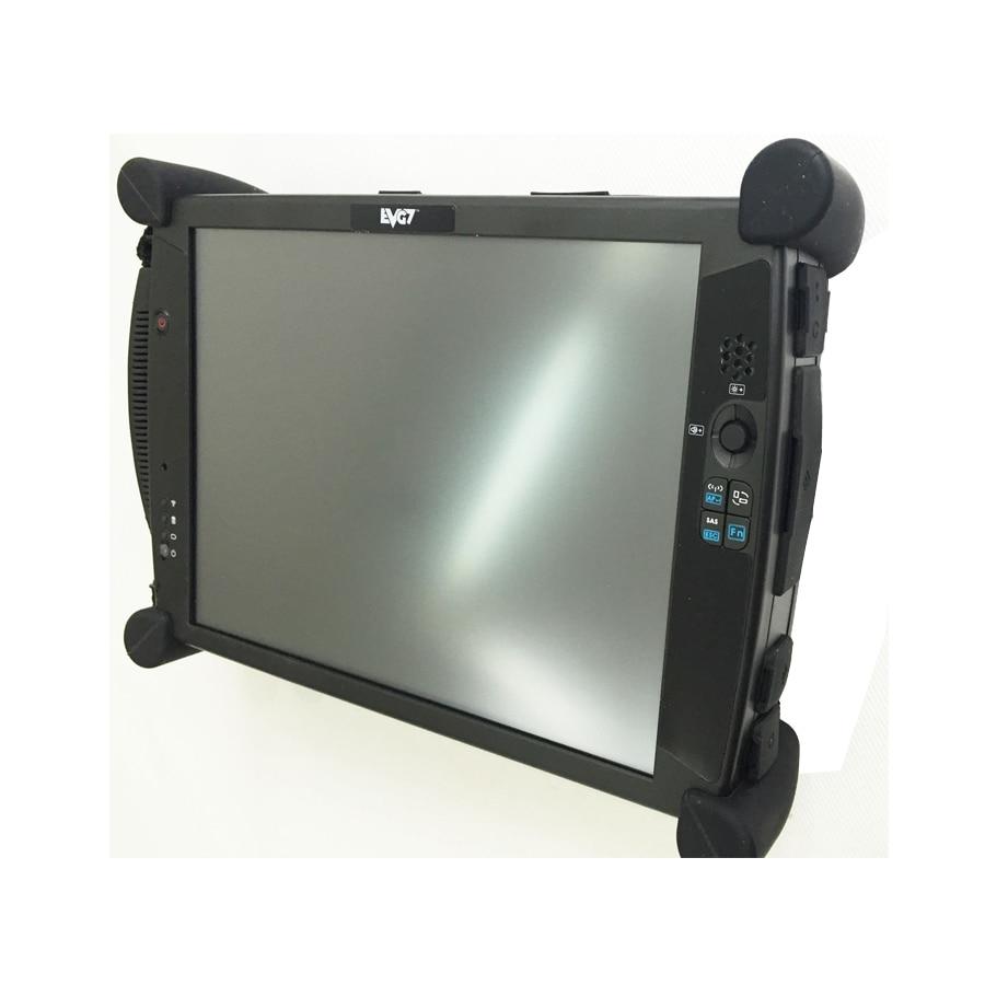 EVG7 DL46/HDD500GB/DDR4GB диагностический контроллер планшетный ПК EVG7 диагностический контроллер - Цвет: Black