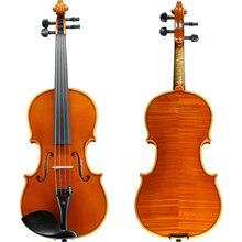 Скрипка ручной работы профессиональная производительность для или взрослых 3/4 4/4 скраипка отправить скрипки случае Германий импортные твердой древесины Vio