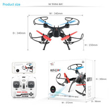 Sans tête Drone ST L3 Sans Tête Mode Un Retour Key 360 Eversion 2.4G 4CH 6 Axes RC Quadcopter RC jouet MIni Drone Vente Chaude
