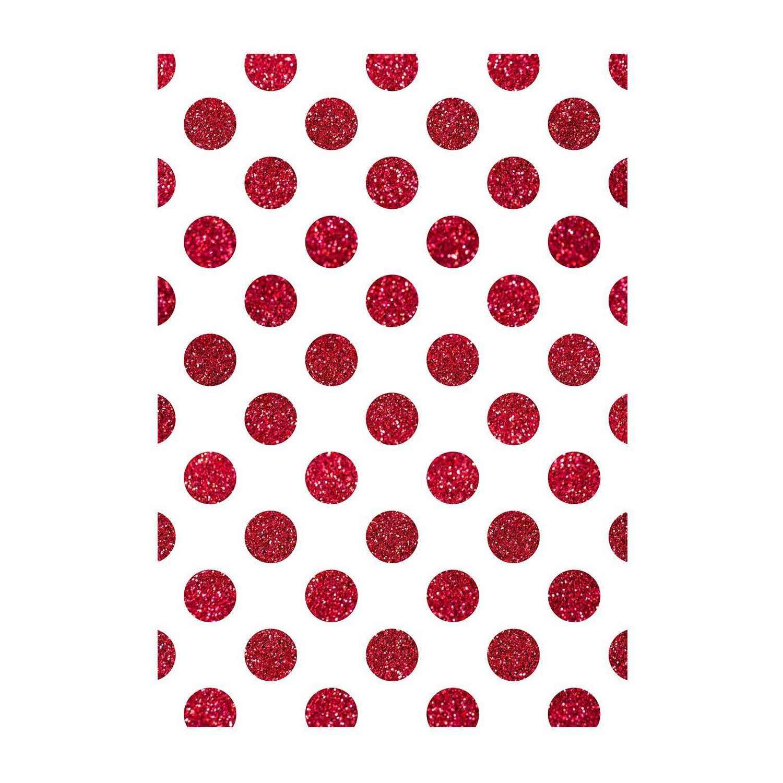 Polka dot wrapping paper christmas