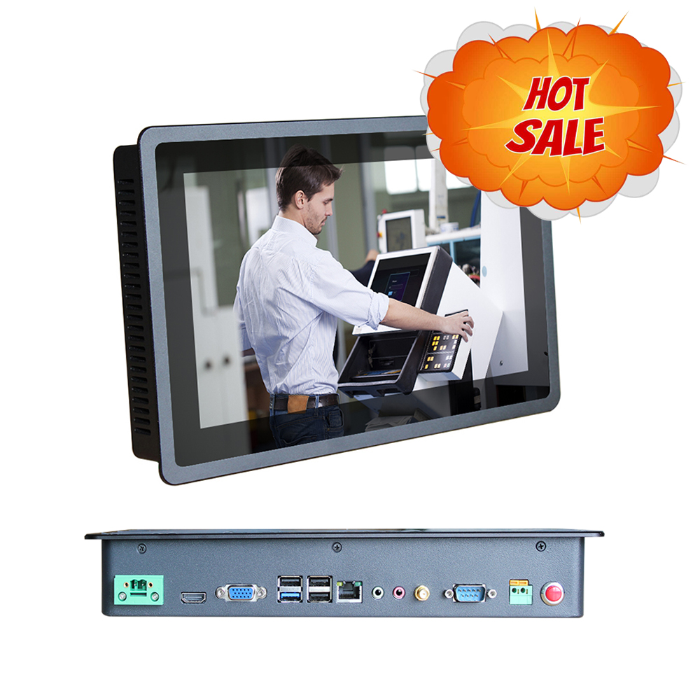widescreen 11.6 inch 4GB RAM 32 SSD Industrial Panel PC intel J1900 2.0GHz Capacitive touch Resolution 1366x768 All In One pc industrial pc inter j1900 2 0ghz 15 inch win7 8 10 linux 2g ram touch screen industrial all in one ip66 waterproof mini panel pc