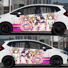 Автомобильные струйные наклейки сексуальная иташа японского аниме Love Live! Авто капот Наклейки на тело Защитная пленка для дверей