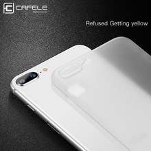 Ultra thin 0.4 mm PP Case for iPhone 8 / 8 Plus Luxury Phone Cover for iPhone 8 Anti fingerprint Anti Scratch