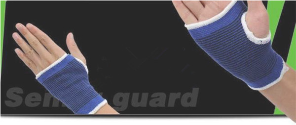 300 pairs Palm Wrist Hand Support Glove Elastic Brace Sleeve Sports Bandage Gym Wrap