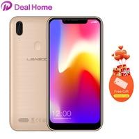 LEAGOO M11 Mobile Phone 6.18 2GB RAM 16GB ROM 4000mAh Android 8.1 MTK6739 Quad Core 4G LTE Smartphone Fingerprint Dual Camera