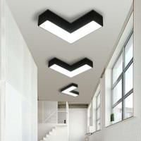 Modern Creative Arrow LED Ceiling Lamp Living Room Dinning Room Aisle Balcony Bedroom Ceiling Light for Hotel