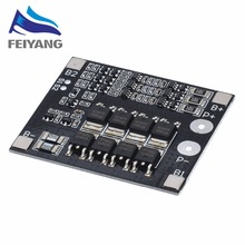 10 Chiếc 3S 25A Li ion 18650 BMS PCM Pin Ban Bảo Vệ BMS PCM Với Cân Bằng Cho Li ion Pin Lipo tế Bào Gói Module