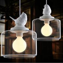Ресторан бар спальня балкон магазин одежды индивидуальность творческая птица утята droplight