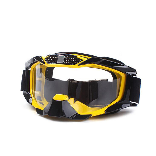Motocicleta Motocross Enduro Capacete Off-Road Óculos Óculos De Proteção Da Motocicleta Óculos À Prova de Vento
