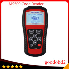 For autel MaxiScan MS509 OBDII/EOBD Scanner Auto Code Reader Car scanner MaxiScan MS509 Multi-language Diagnostic Tool
