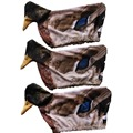 3 Pcs Flexible Fabric Outdoor Hunting Decoy Sock Realistic 3D Pull Duck Covers