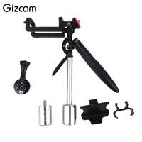 Gizcam Portable Handheld Stabilizer Steadycam For Gopro Hero5 4 Auto Cell Phone Multifunction Video Camera Accessories