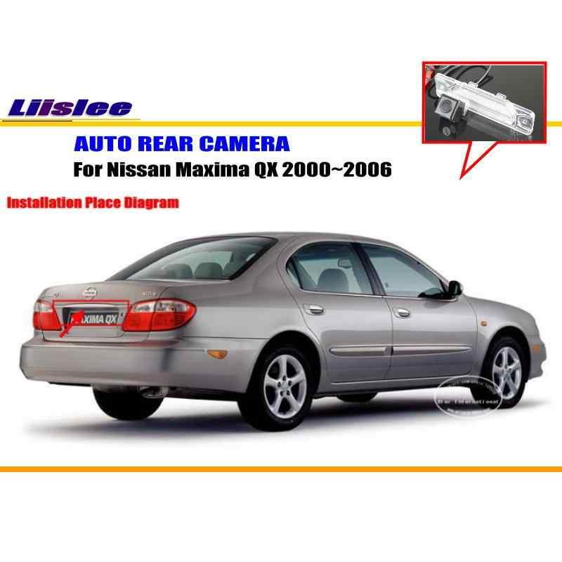 Liislee Car Camera For Nissan Maxima QX 2000~2006 / Rear View Camera on