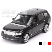High Simulation Exquisite Collection Toys: RAStar Car Styling Range Rover SUV Car Model 1:24 Alloy Car Model Best Gifts