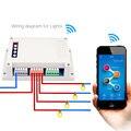 4 Канала Wi-Fi Переключатель Монтаж на Din Рейку 4ch Беспроводной интеллектуальный пульт дистанционного управления 10А/2200 Вт для смарт home Automation