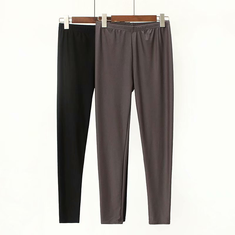 Women Clothing Leggings Ankle-Length Autumn Winter Plus-Size Casual Fashion Stretch GL0091