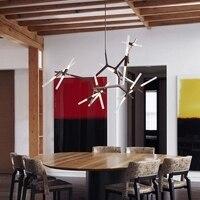 Artes creativas Colina Agnes Lámpara Colgante de Luz Lámparas Moderno Italiano Famoso Diseño de La Personalidad Salón Restaurante Luces Lámparas