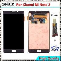 Sinbeda ЖК дисплей Экран для Xiaomi Mi note2 ЖК дисплей Дисплей + запасной дигитайзер в сборе для панели с сенсорным экраном для Mi Note 2 мобильный телефо