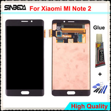 Sinbeda 5.7″ LCD For Xiaomi MI Note 2 LCD Display Touch Screen Panel Digitizer Assembly Replacement For MI Note 2 Black/Silver