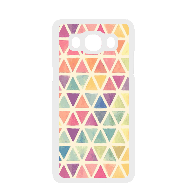 Geometric Triangle Cover Case for Samsung Galaxy A3 A5 A7 J1 J5 J7 2016 Prime Core Prime Grand Prime Grand Neo Alpha Note 2