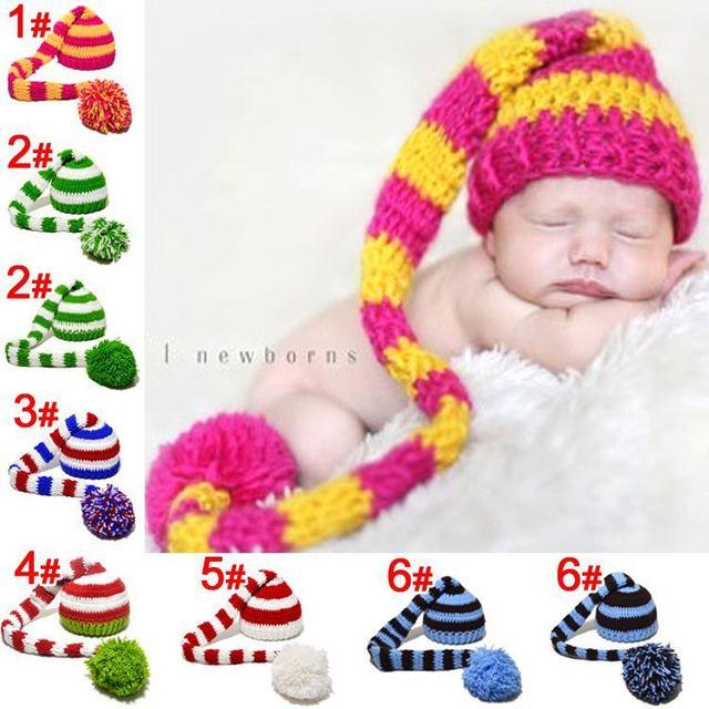 Nueva! Elf recién nacido sombrero, bebé del duende del duendecillo ...