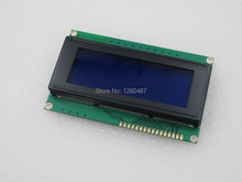 Free shipping 1pcs/lot LCD Board 2004 20*4 LCD 20X4 5V Blue screen blacklight LCD2004 display LCD module LCD 2004 for arduino