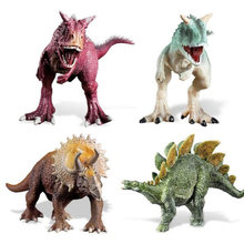 Classic Jurassic World Carnotarus&Stegosaurus PVC Action Figure Model Toy Movie Jurassic World Dinosaur Collection Juguetes Gift(China)