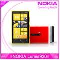 Оригинальный телефон Nokia Lumia 920 4.5 '' сенсорный Wifi NFC Gps 3 ГБ 4 г 32 ГБ хранения 8MP камера разблокирована окна сотовый телефон бесплатная доставка