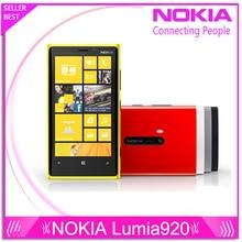 """Оригинальный телефон Nokia Lumia 920 4.5 """" сенсорный Wifi NFC Gps 3 ГБ 4 г 32 ГБ хранения 8MP камера разблокирована окна сотовый телефон бесплатная доставка"""