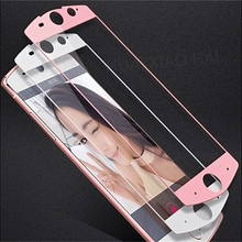 CMDZ Full Coverage tempered glass for meitu t8 toughened durable for MEITU T8 PINK