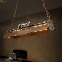 American Retro Металл LED Открытый Подвесные Светильники EDISON ЛАМПЫ Обеденная led подвесной светильник Лофт подвесной светильник LED Висячие светильн