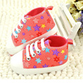 Baby Casual Shoes Girls Boys 2016 Fashion Rainbow Toddler Canvas Shoes Soft Prewalkers Casual First Walkers For Infant