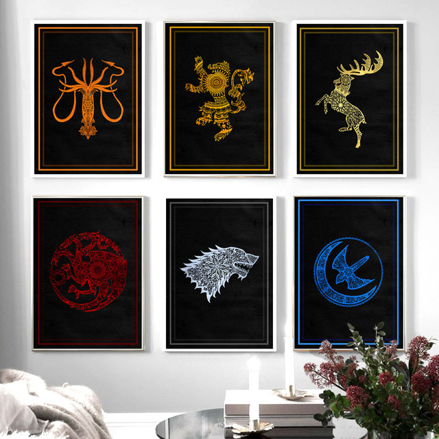 Wall Art Canvas Painting For Living Room Decor 1