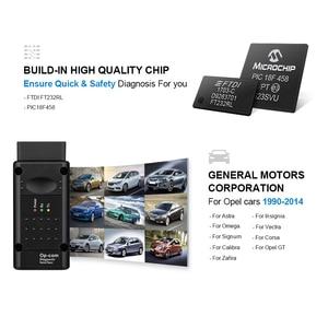 Image 5 - Op com V1.65 V1.78 V1.99 PIC18F458 FTDI op com OBD2 자동 진단 도구 Opel OPCOM CAN 버스 V1.7 플래시 업데이트 가능
