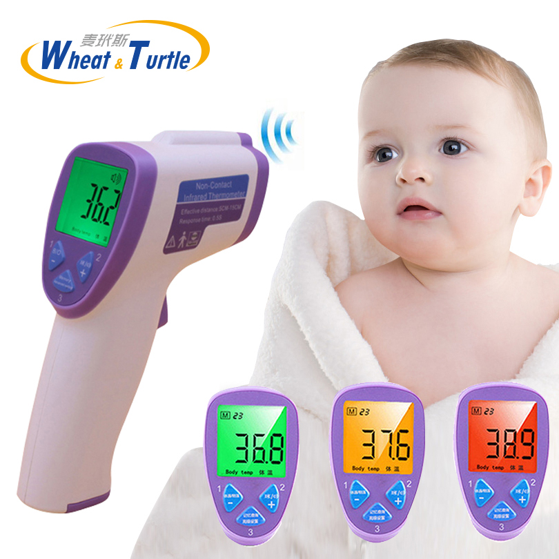 Fast Deliver Baby Infrared Thermometer Health Safety Care Lcd Digital Body Fever Contactless Ir Medical Thermometer For Children To Assure Years Of Trouble-Free Service Mother & Kids Baby Care