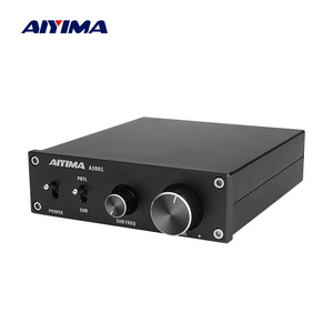 AIYIMA TPA3255 Subwoofer Amplifier 300W HIFI Mono Power Amplifiers Class D Home Audio AMP NE5532 OP AMP Bass Tweeter Adjustment