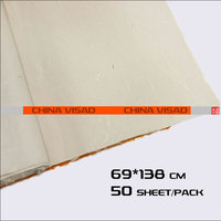 50 sheets/pack 69*138 cm archaize Chinese painting paper & yunlong xuan paper,free shipping