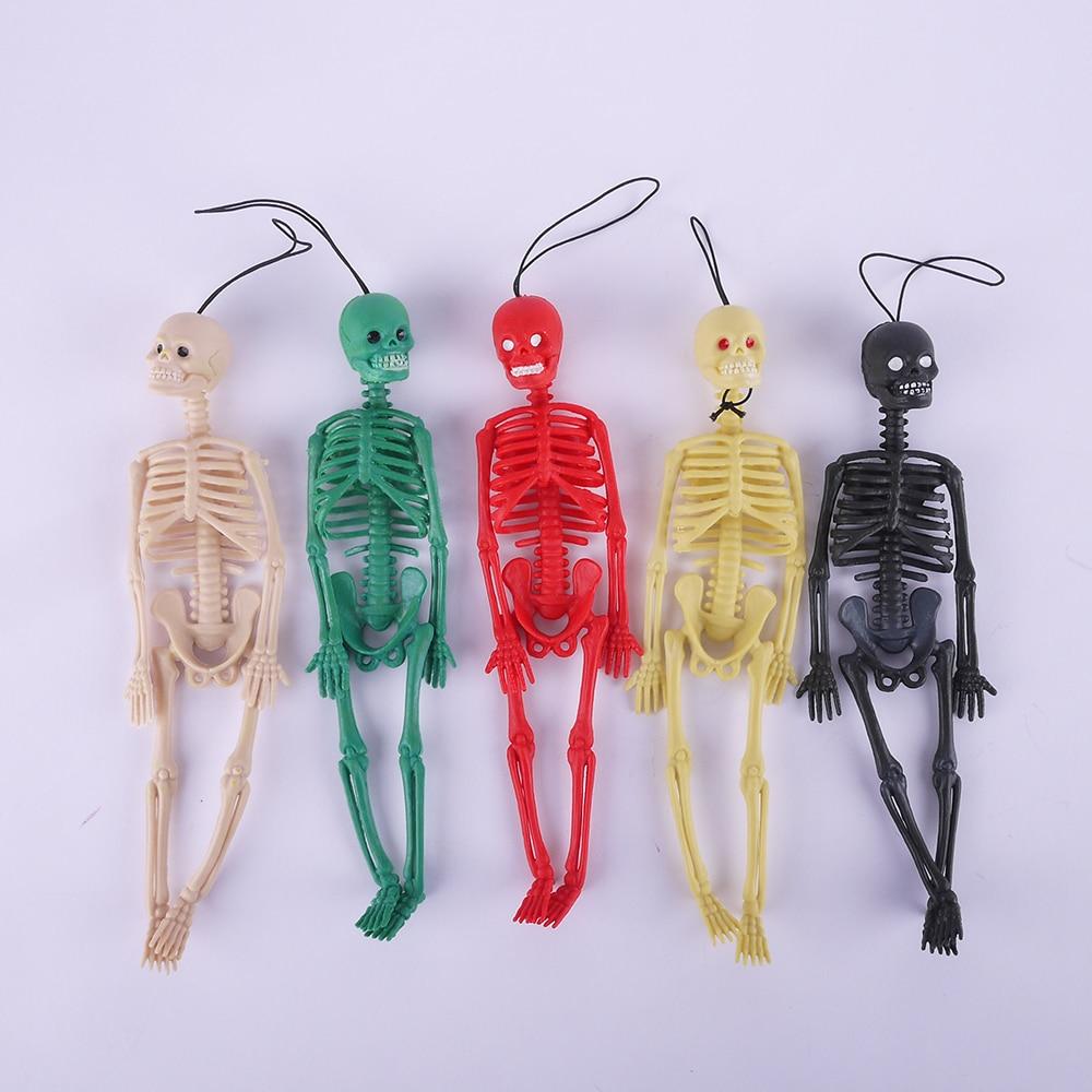 New Scary Skeleton Model Children Prank Halloween Toy Anti