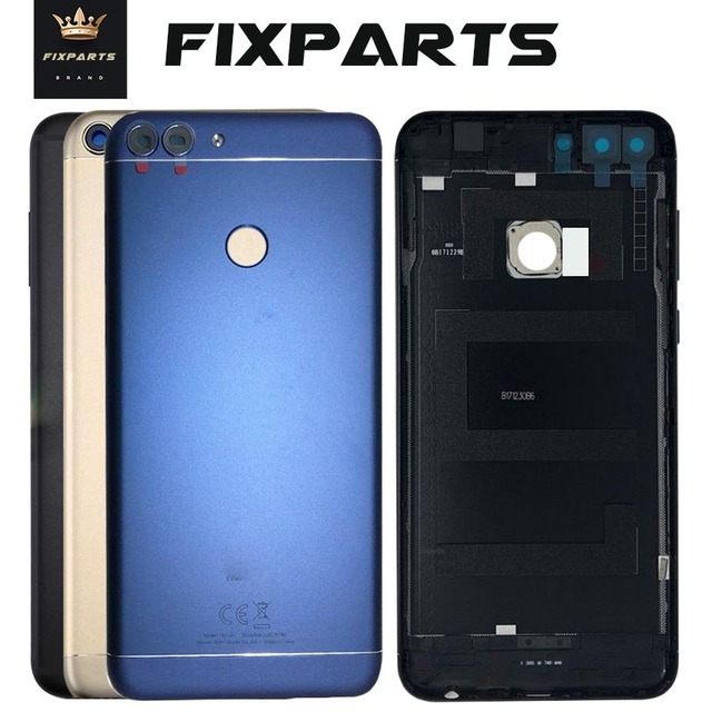size 40 f3137 a8713 US $9.21 5% OFF|Huawei P Smart Back Battery Cover Rear Housing Case With  Camera Lens Replacement Huawei Enjoy 7S Smart Battery Cover-in Mobile Phone  ...