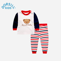 Dorsill New Fashion Kids Sets Long Sleeve Warm And Soft Cotton Children Pajamas Autumn And Winter