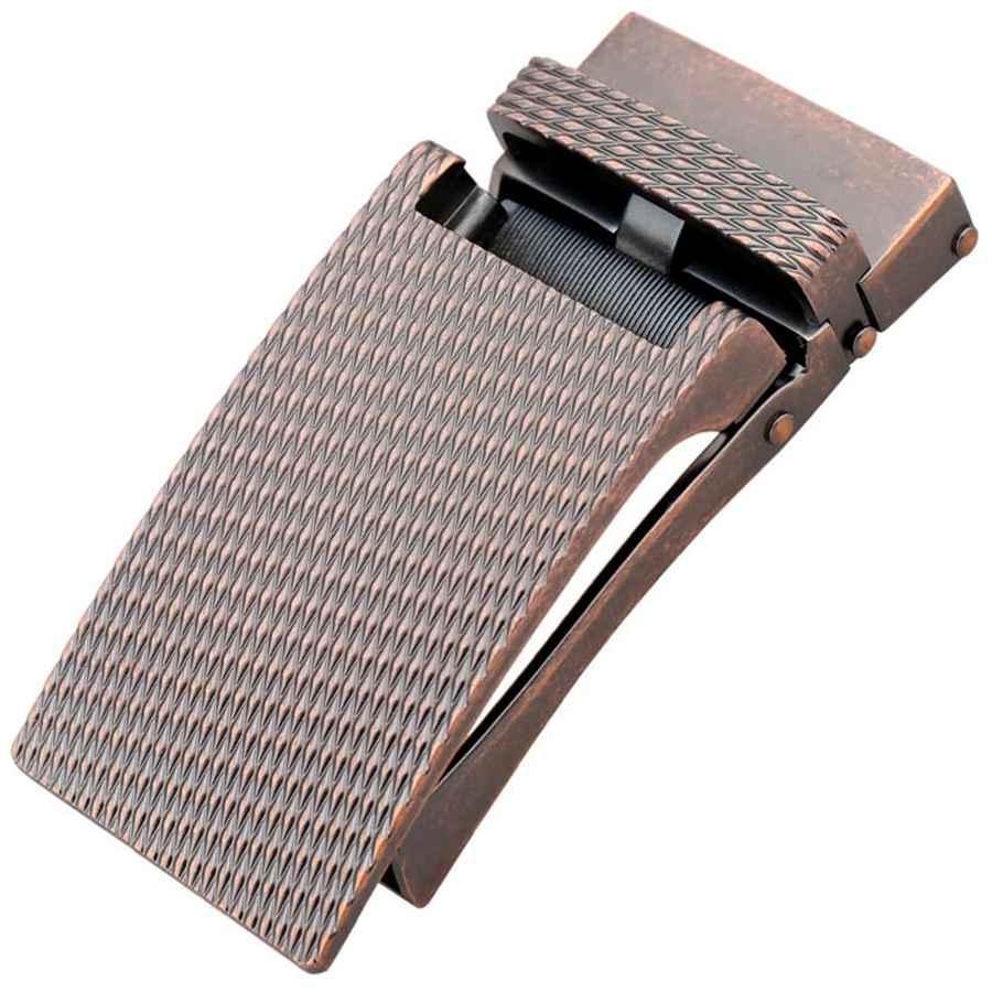 Mens Designer Leather Belt Rachet Waistband Strap Automatic Buckle Eagle Fashion