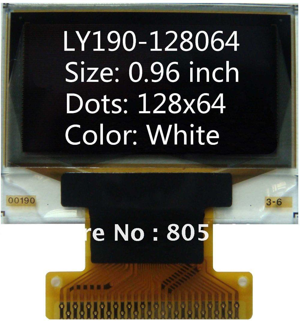 0.96 inch 128x64 27pin LY190 oled screen OLED display SSD1308 OLED