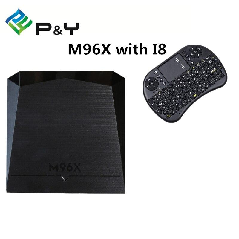 M96X Amlogic S905X Android TV Box OS 6 0 2G 8G WIFI 4K 1080i p Quad