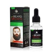 30ml 100% Natural Men Growth Beard Oil Organic Beard Wax balm Avoid Be